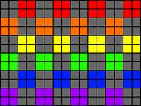 Alpha pattern #19818