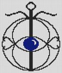 Alpha Friendship Bracelet Pattern #19820