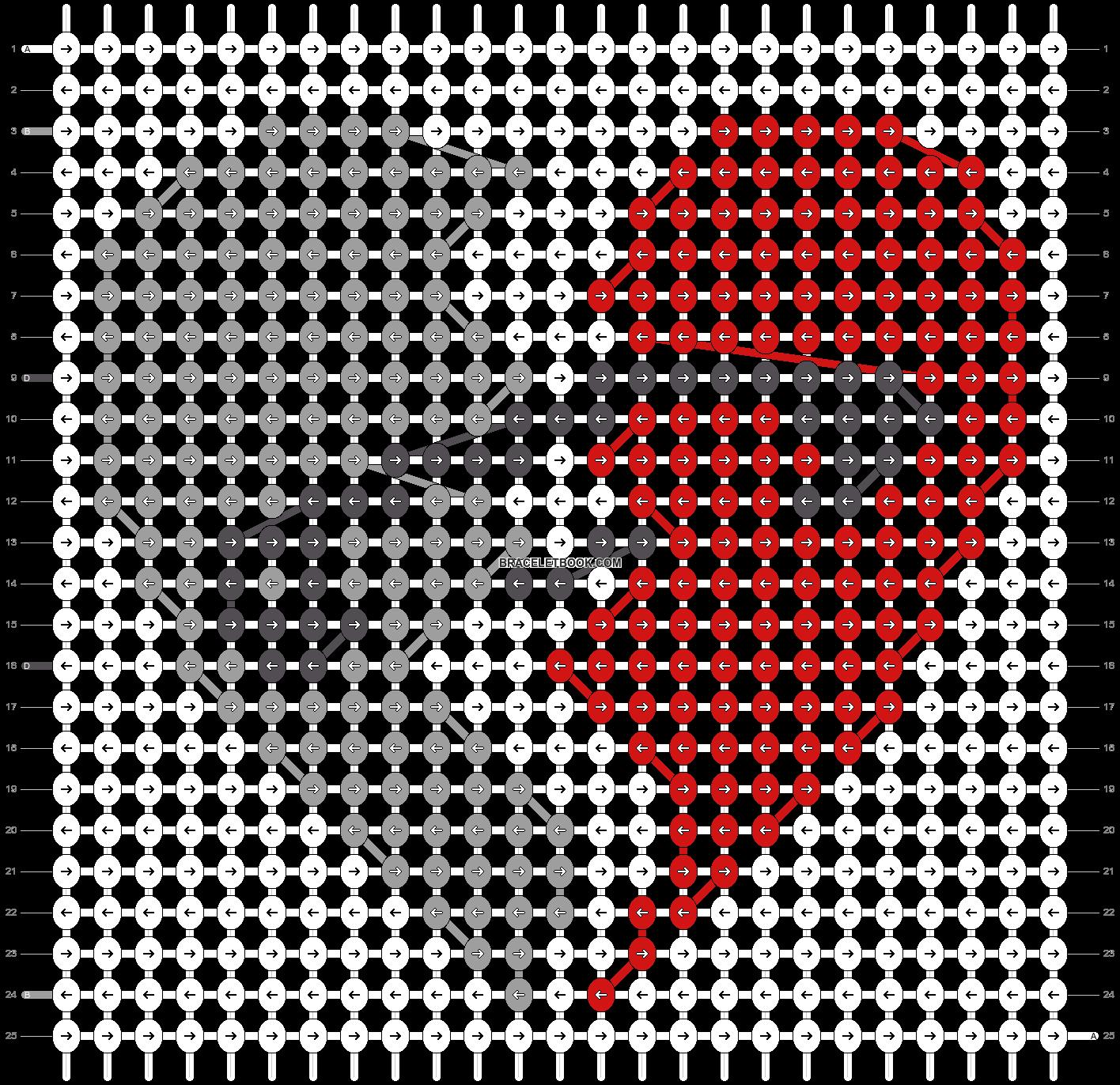 Alpha pattern #19822 pattern