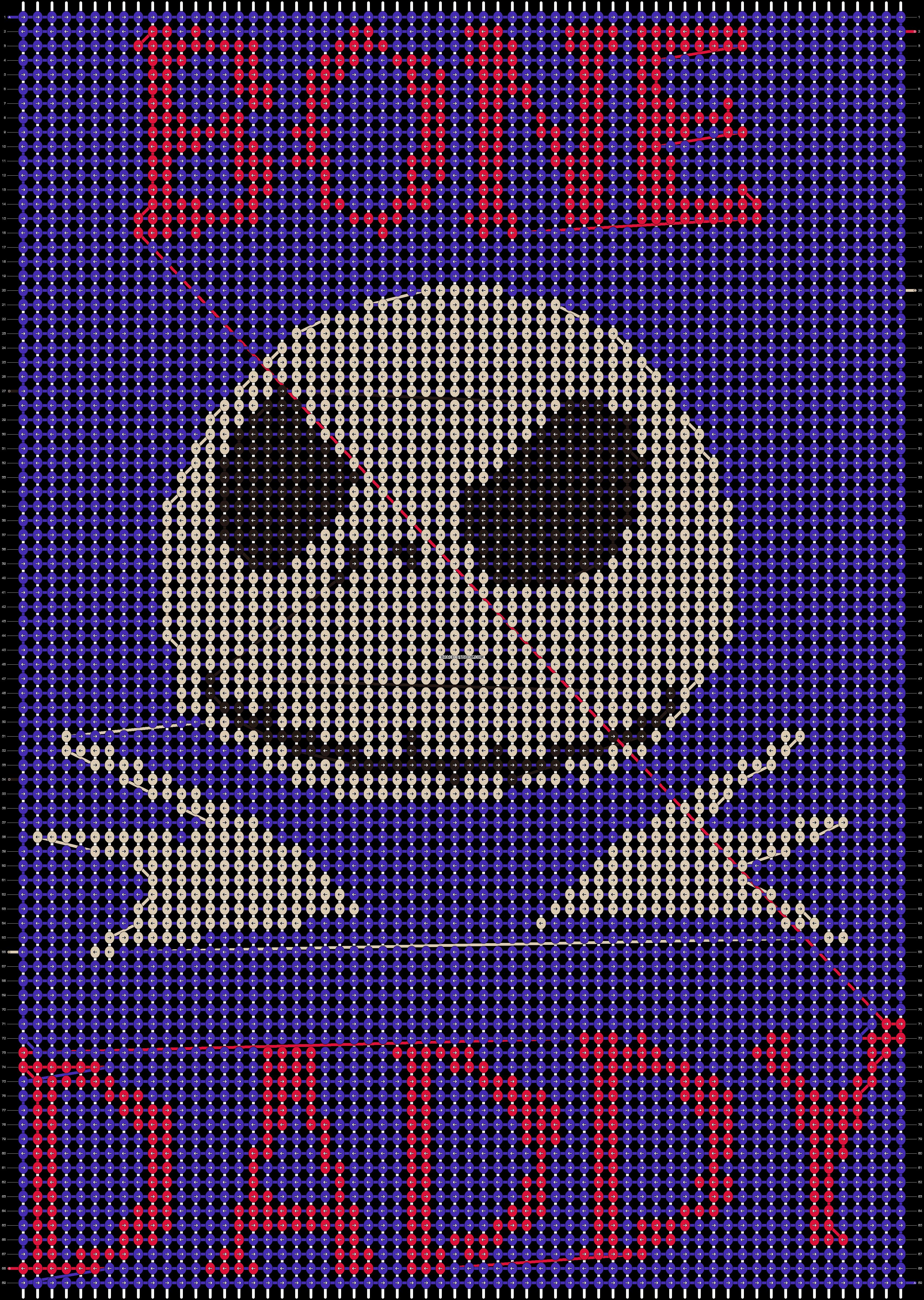 Alpha pattern #19824 pattern