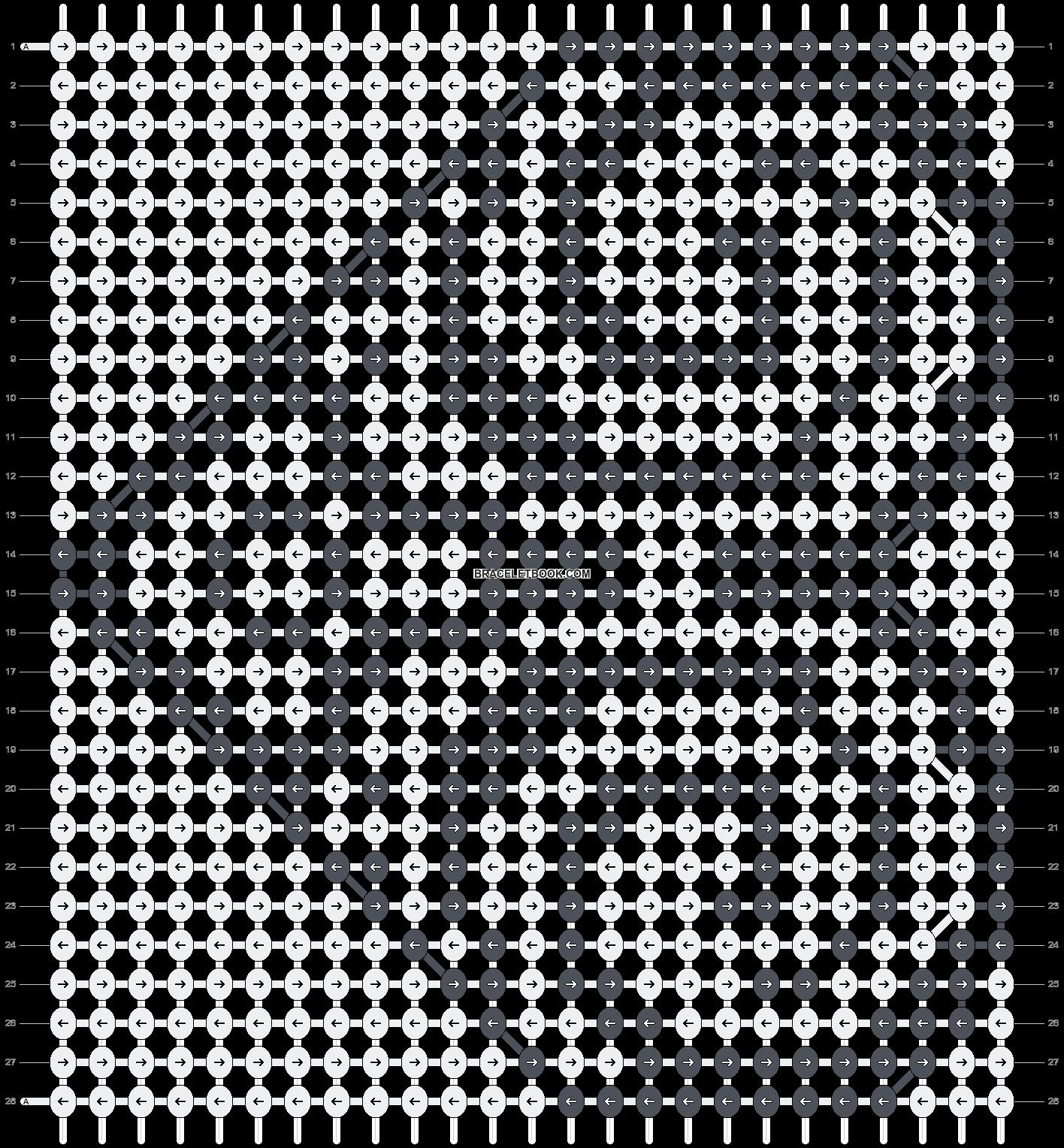 Alpha pattern #19826 pattern