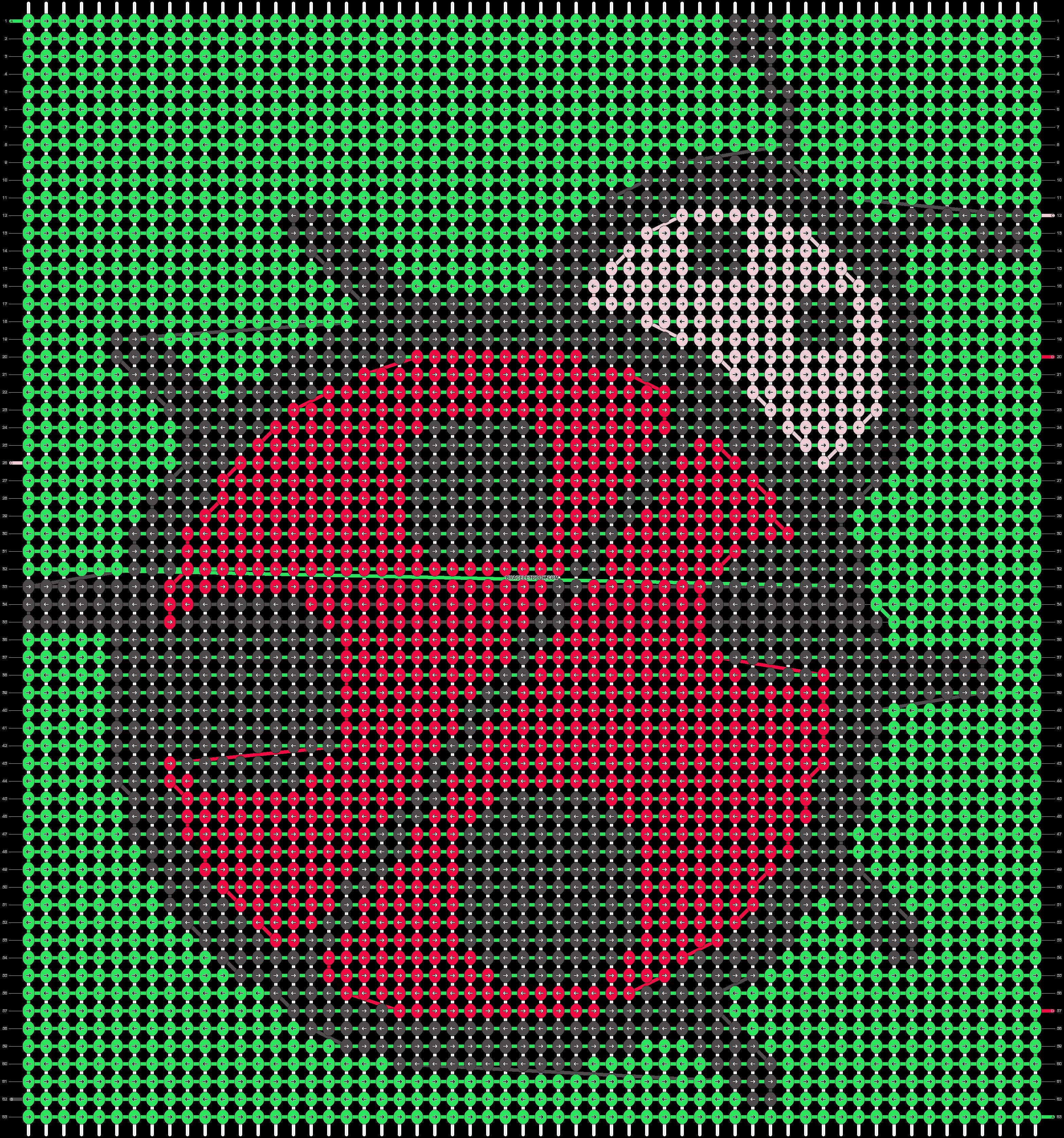 Alpha pattern #19827 pattern