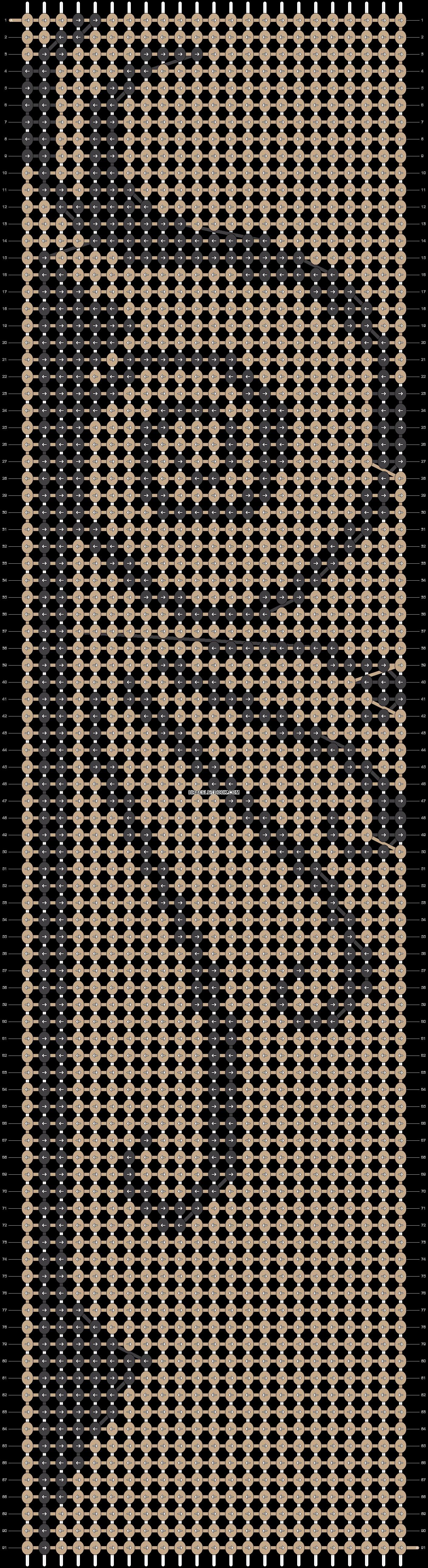 Alpha pattern #19829 pattern
