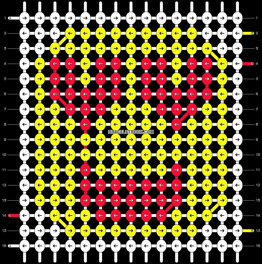 Alpha pattern #19867 pattern