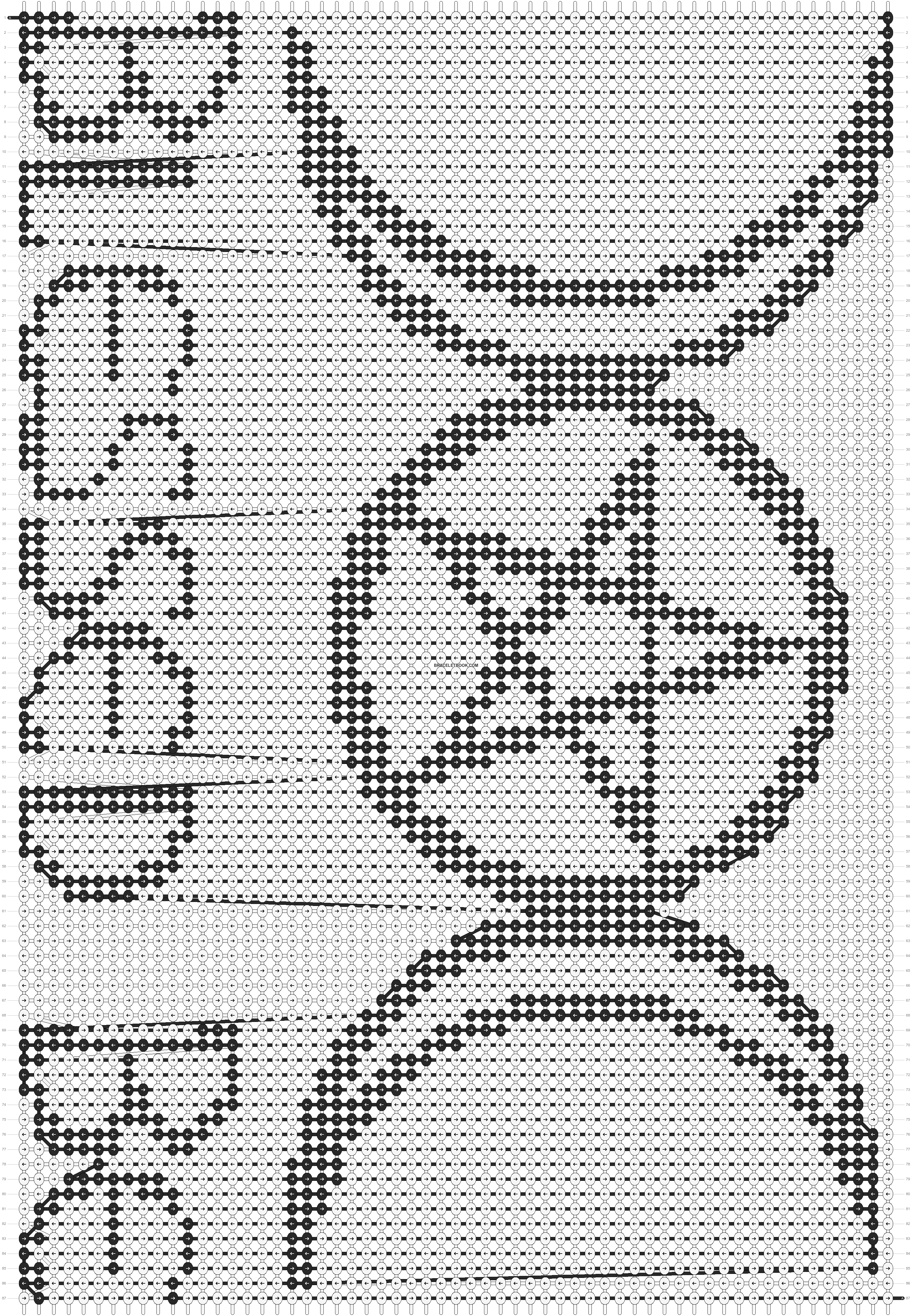 Alpha pattern #19883 pattern