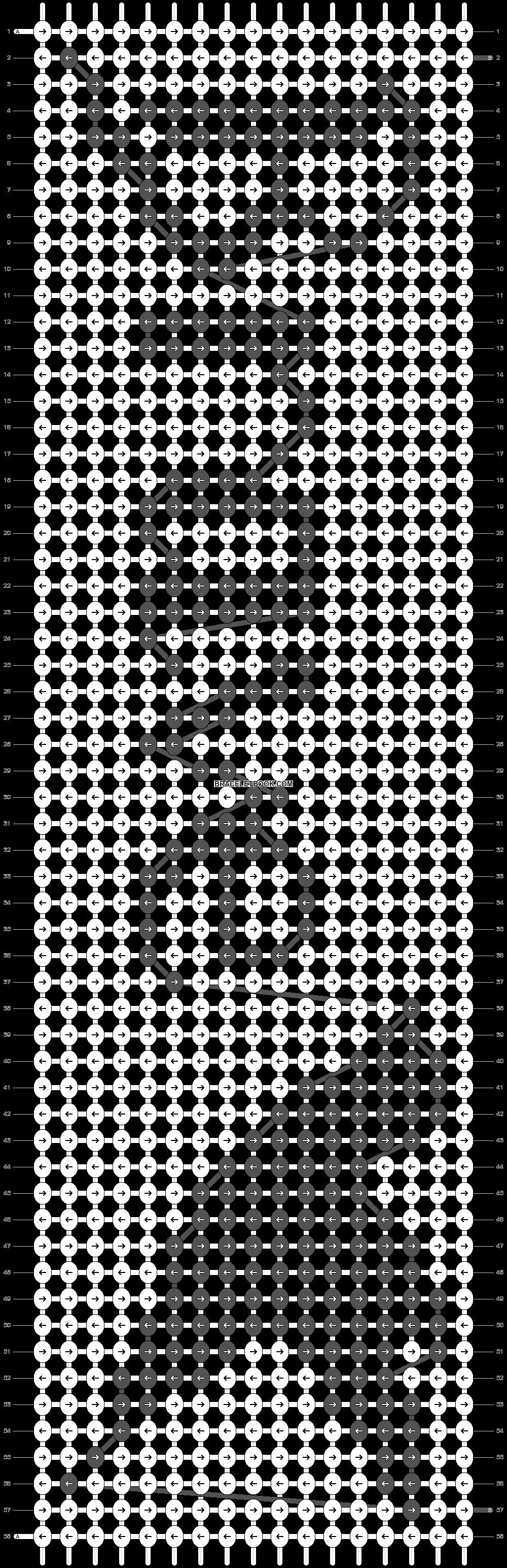 Alpha pattern #19885 pattern