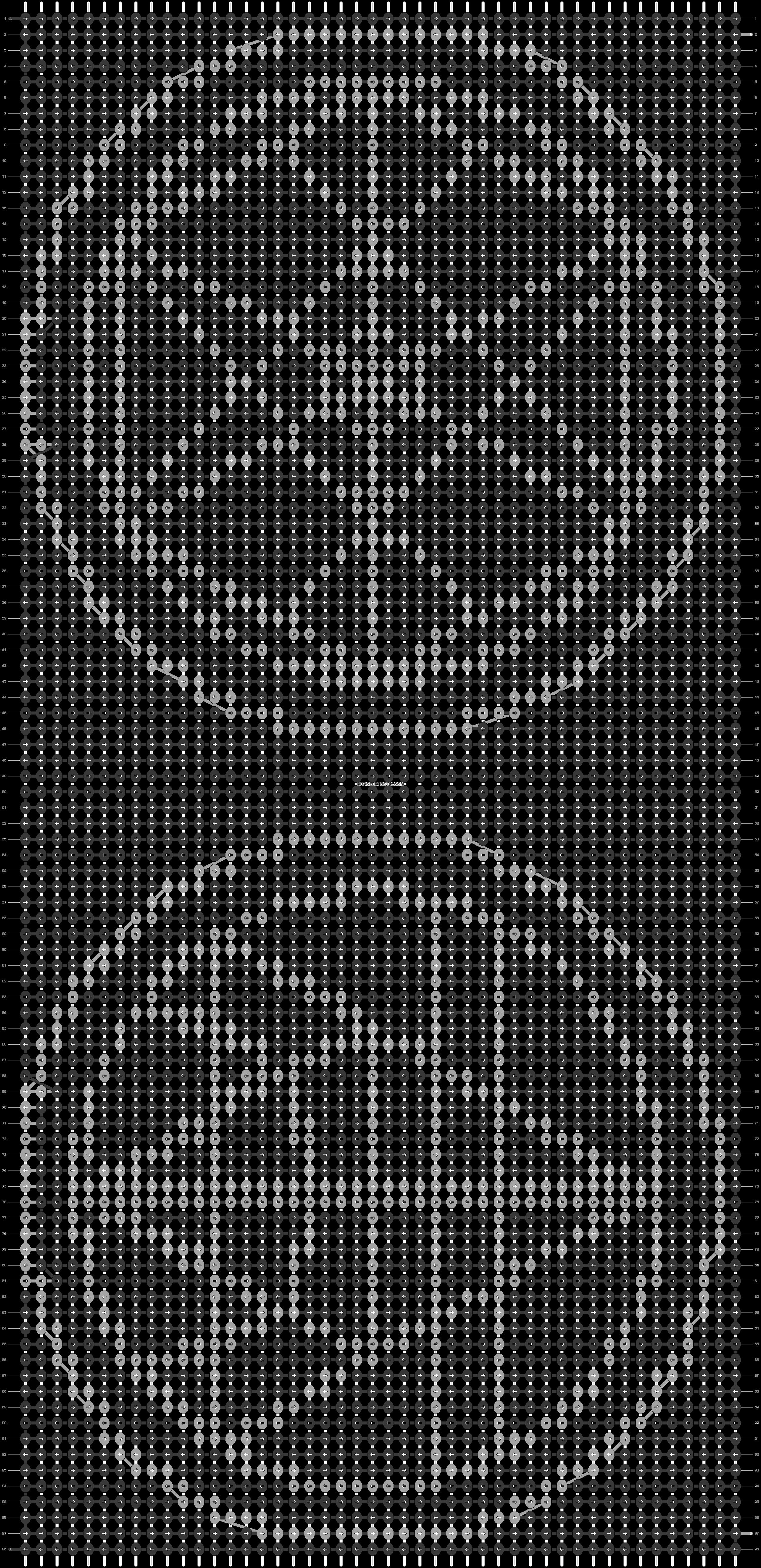 Alpha pattern #19905 pattern