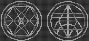 Alpha pattern #19905