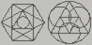 Alpha pattern #19906