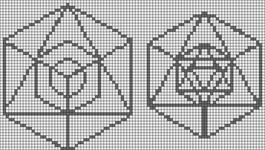 Alpha pattern #19907