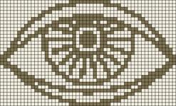 Alpha pattern #19910