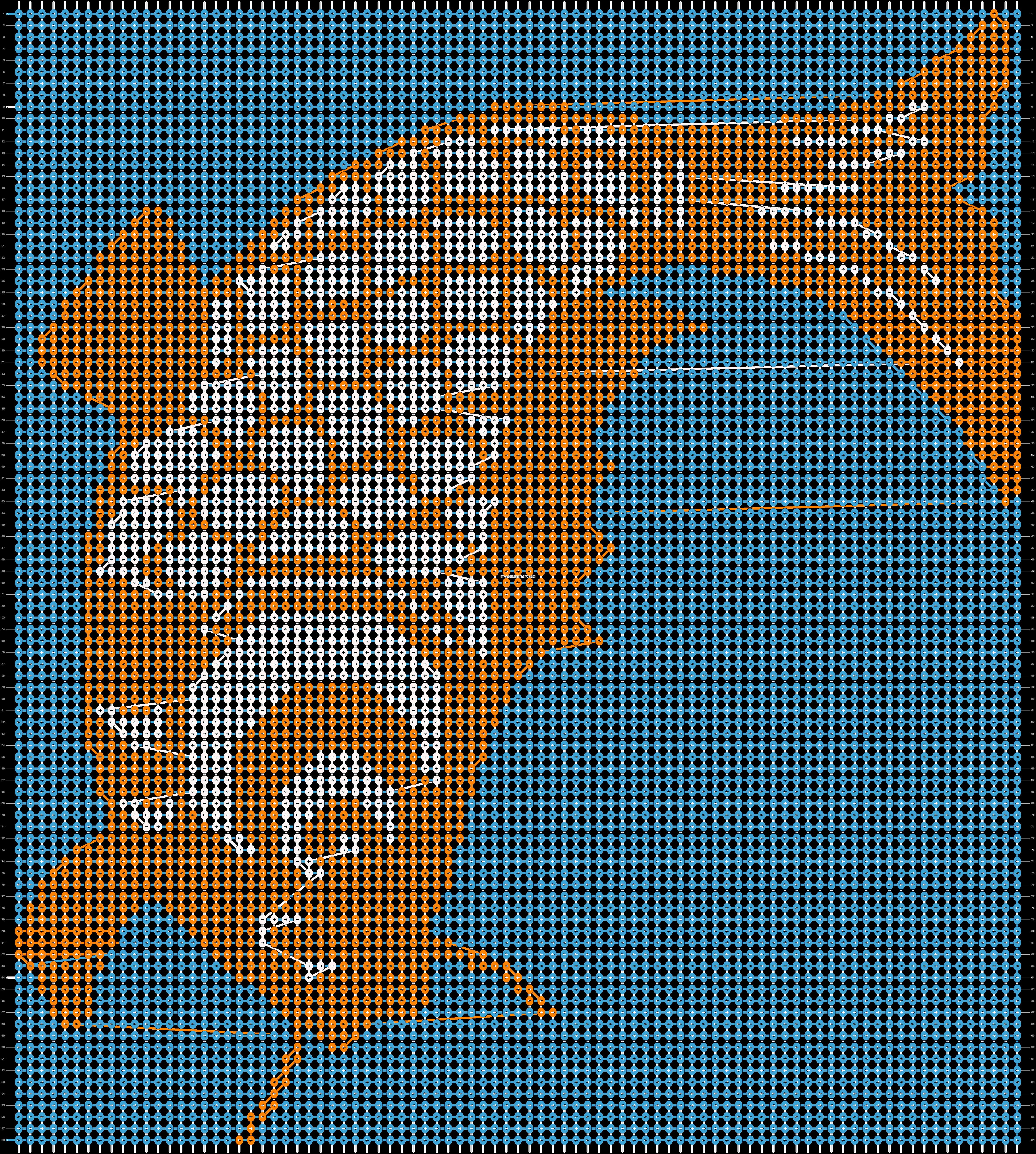 Alpha pattern #19912 pattern