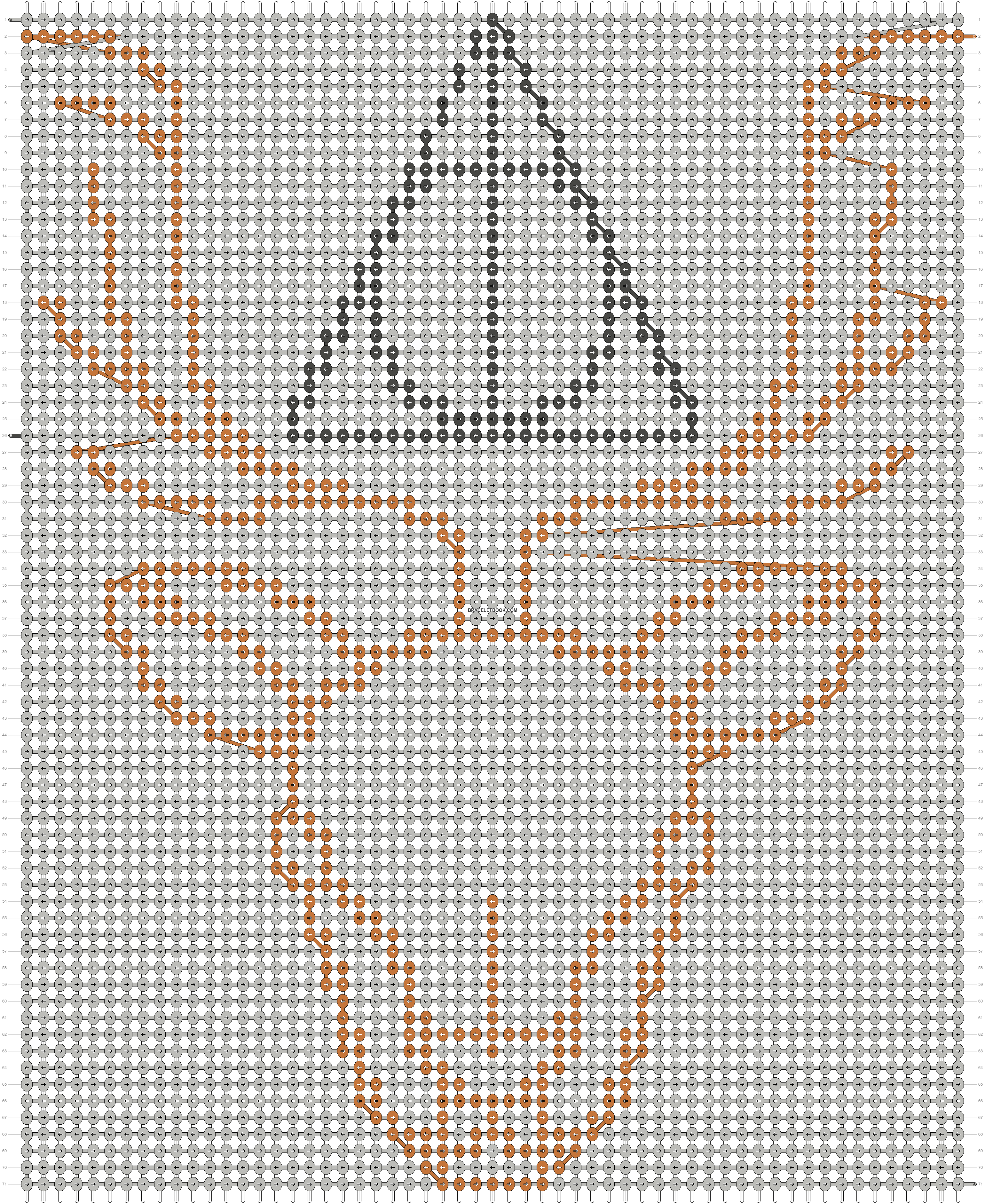 Alpha pattern #19913 pattern