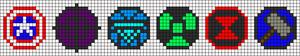Alpha Friendship Bracelet Pattern #19916