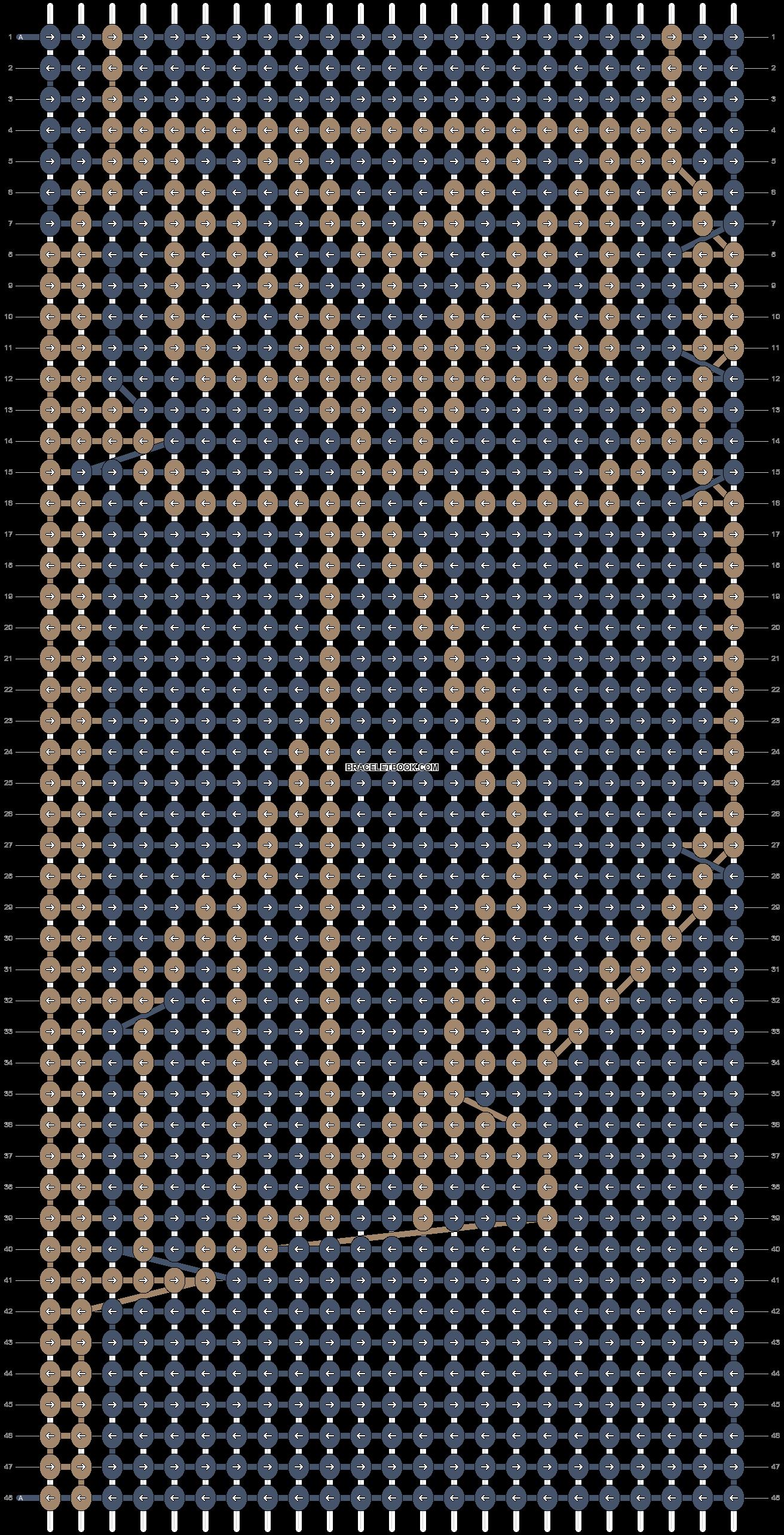 Alpha pattern #19922 pattern