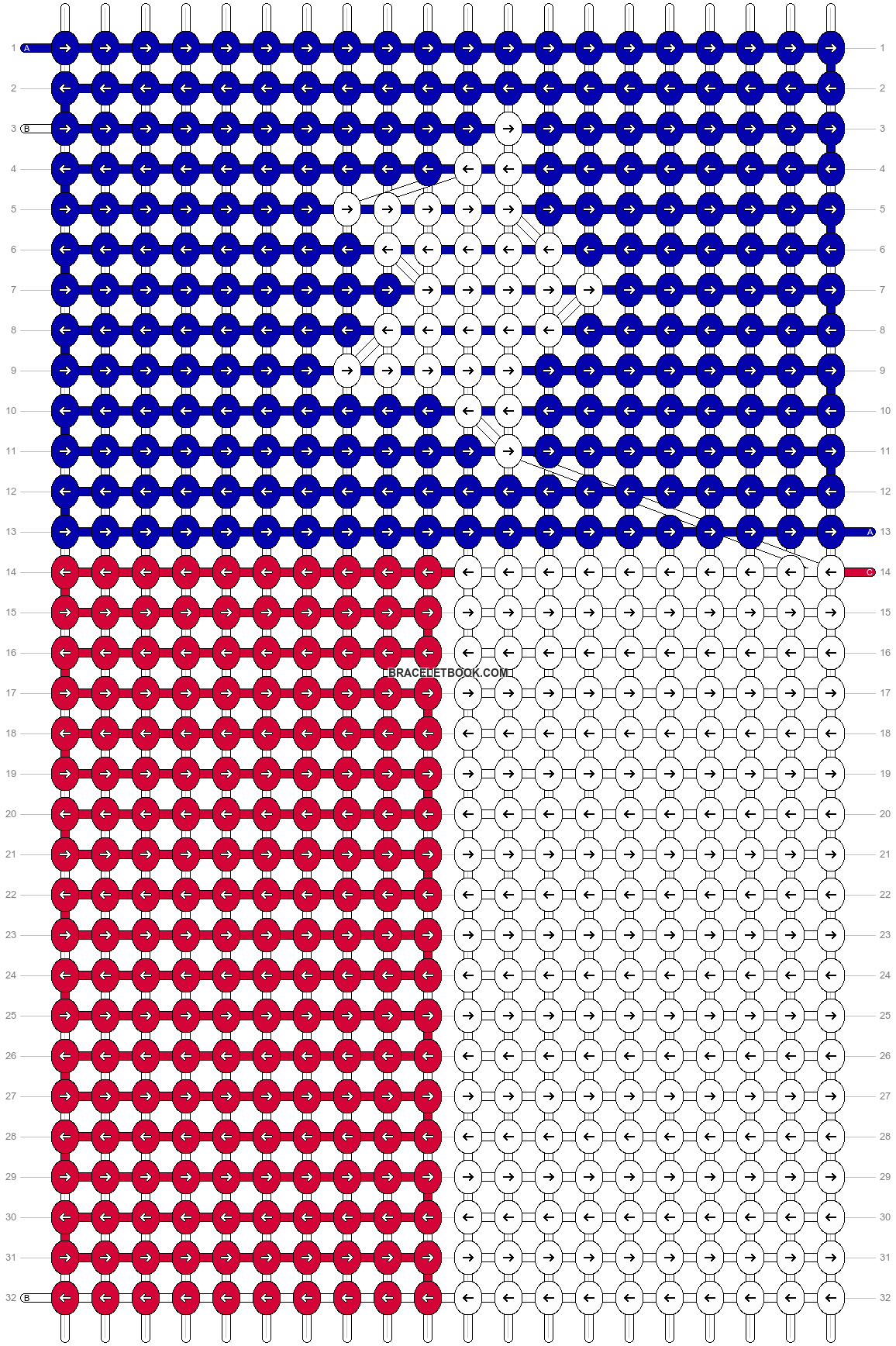 Alpha pattern #19931 pattern