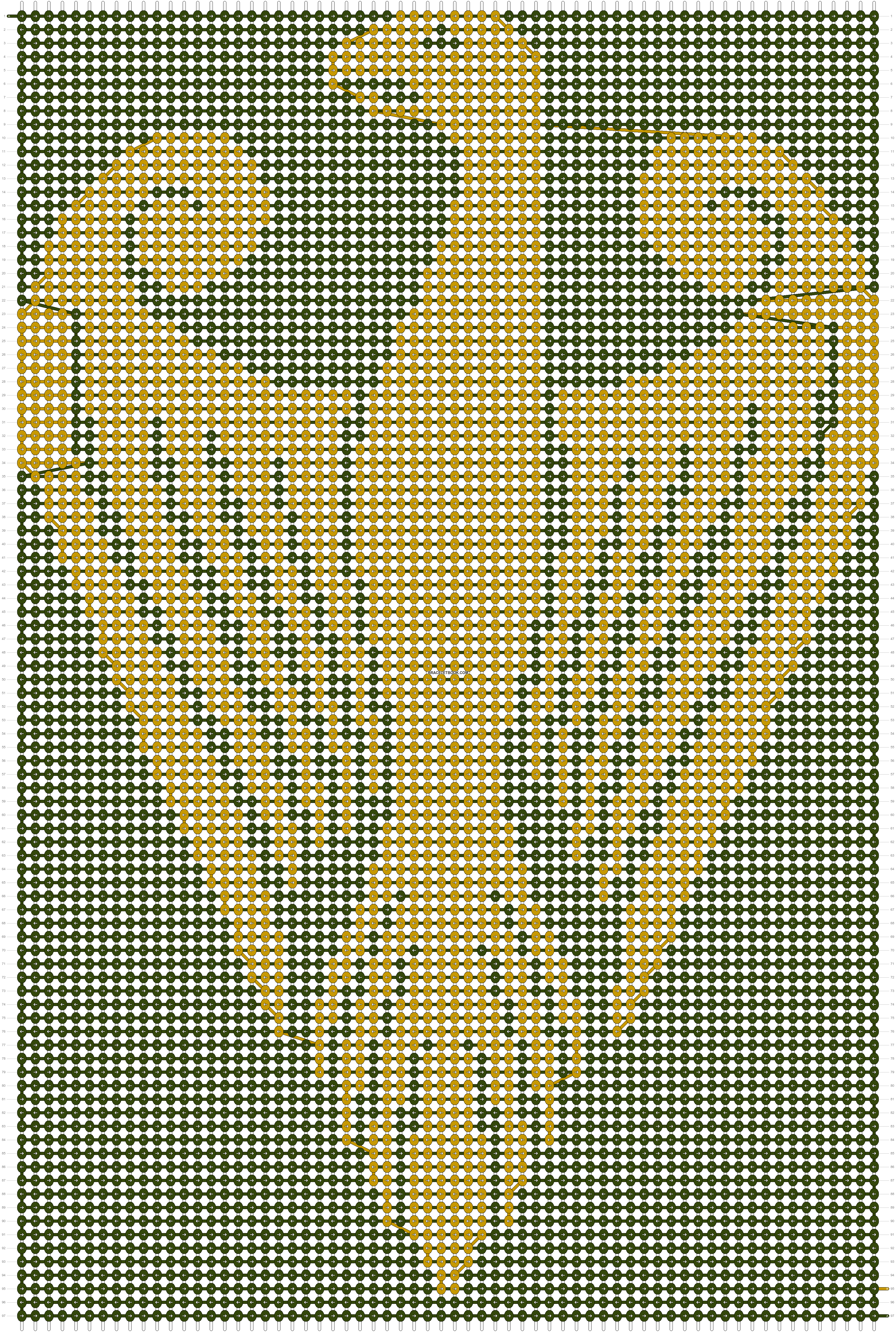 Alpha pattern #19933 pattern