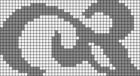 Alpha pattern #19937