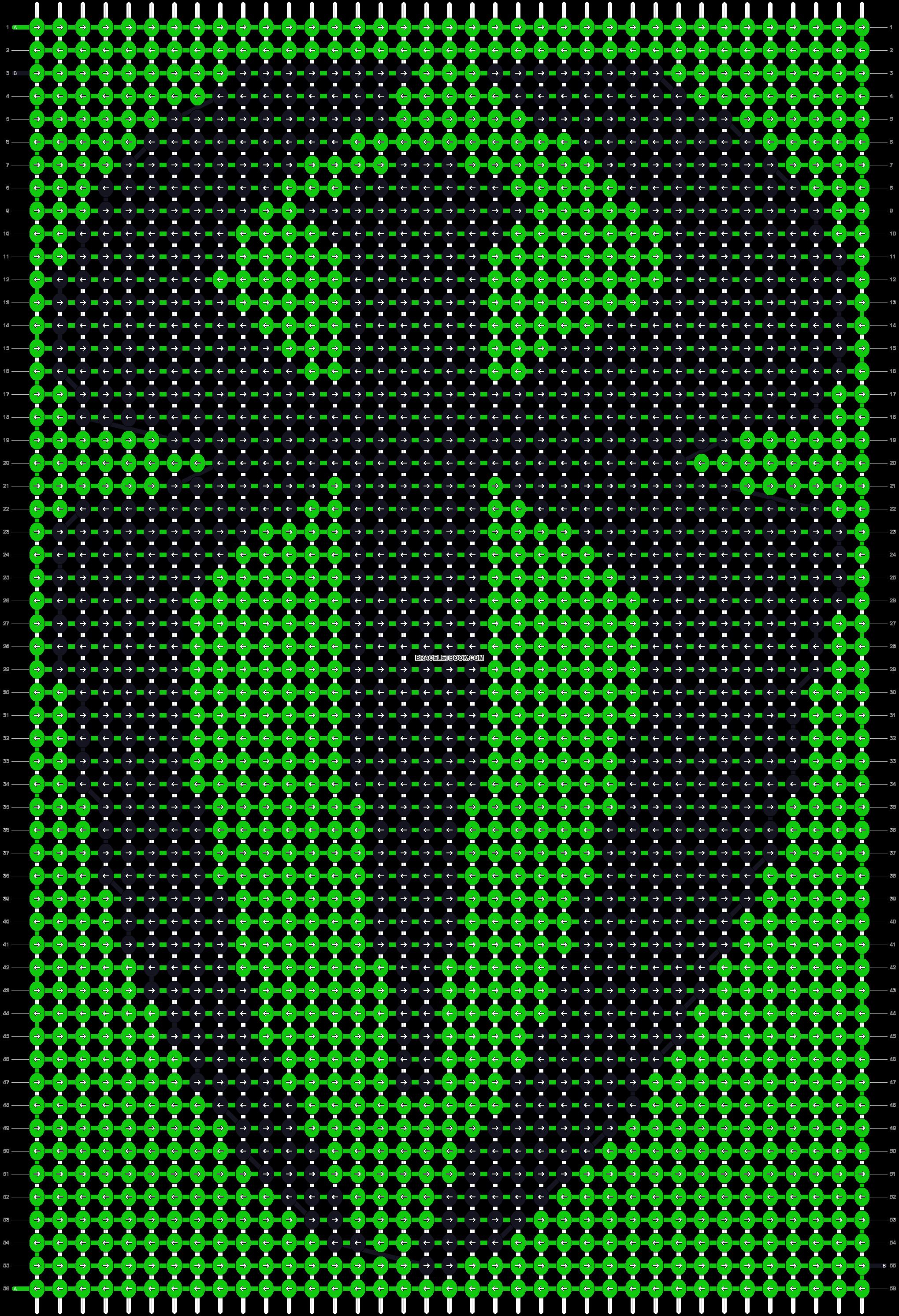 Alpha pattern #19938 pattern