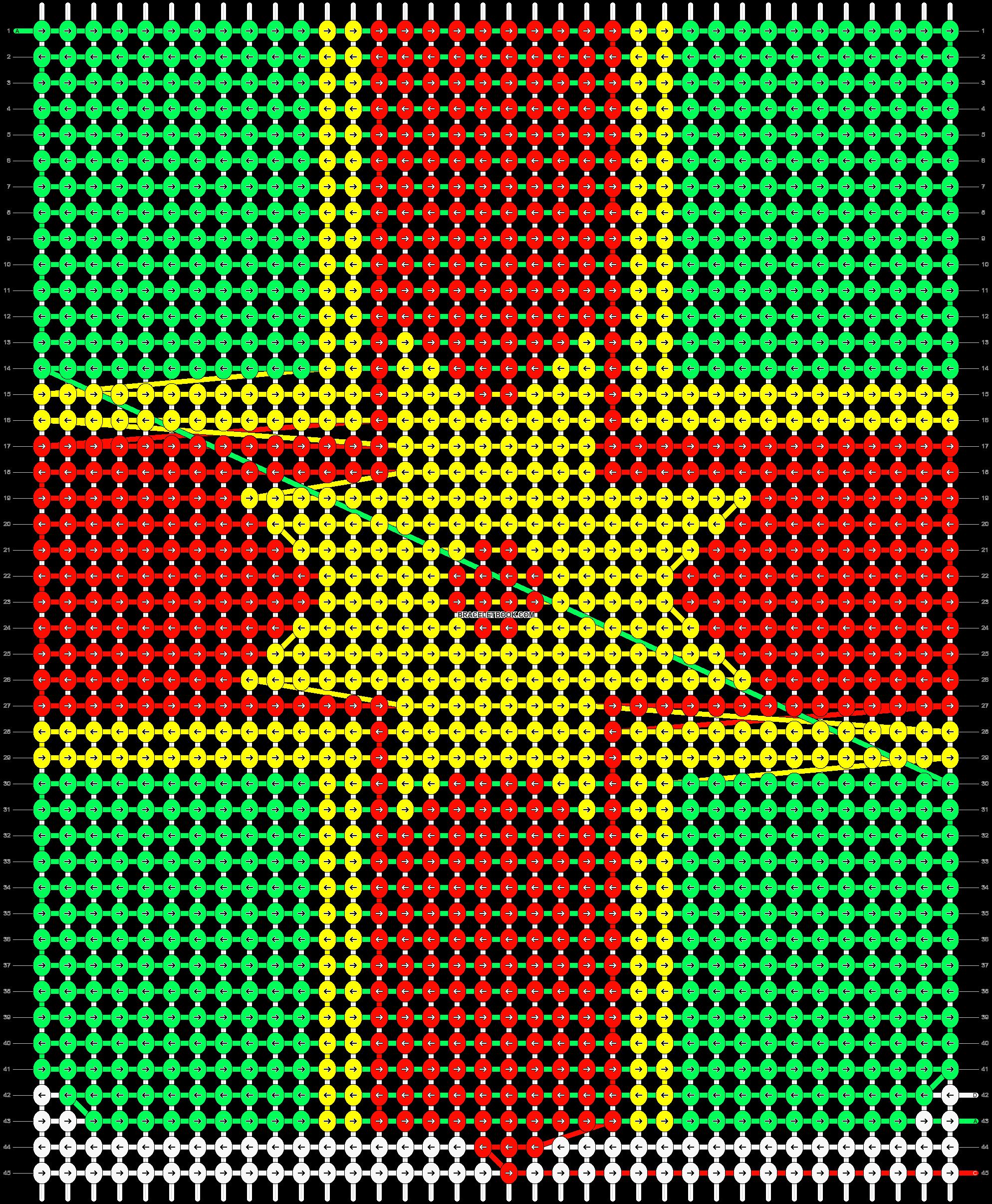 Alpha pattern #19939 pattern