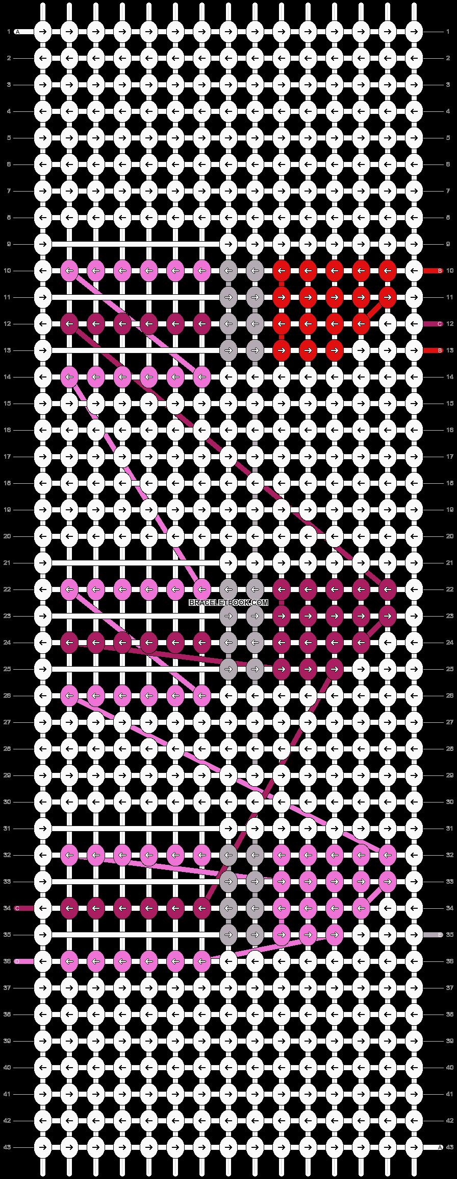 Alpha pattern #19940 pattern
