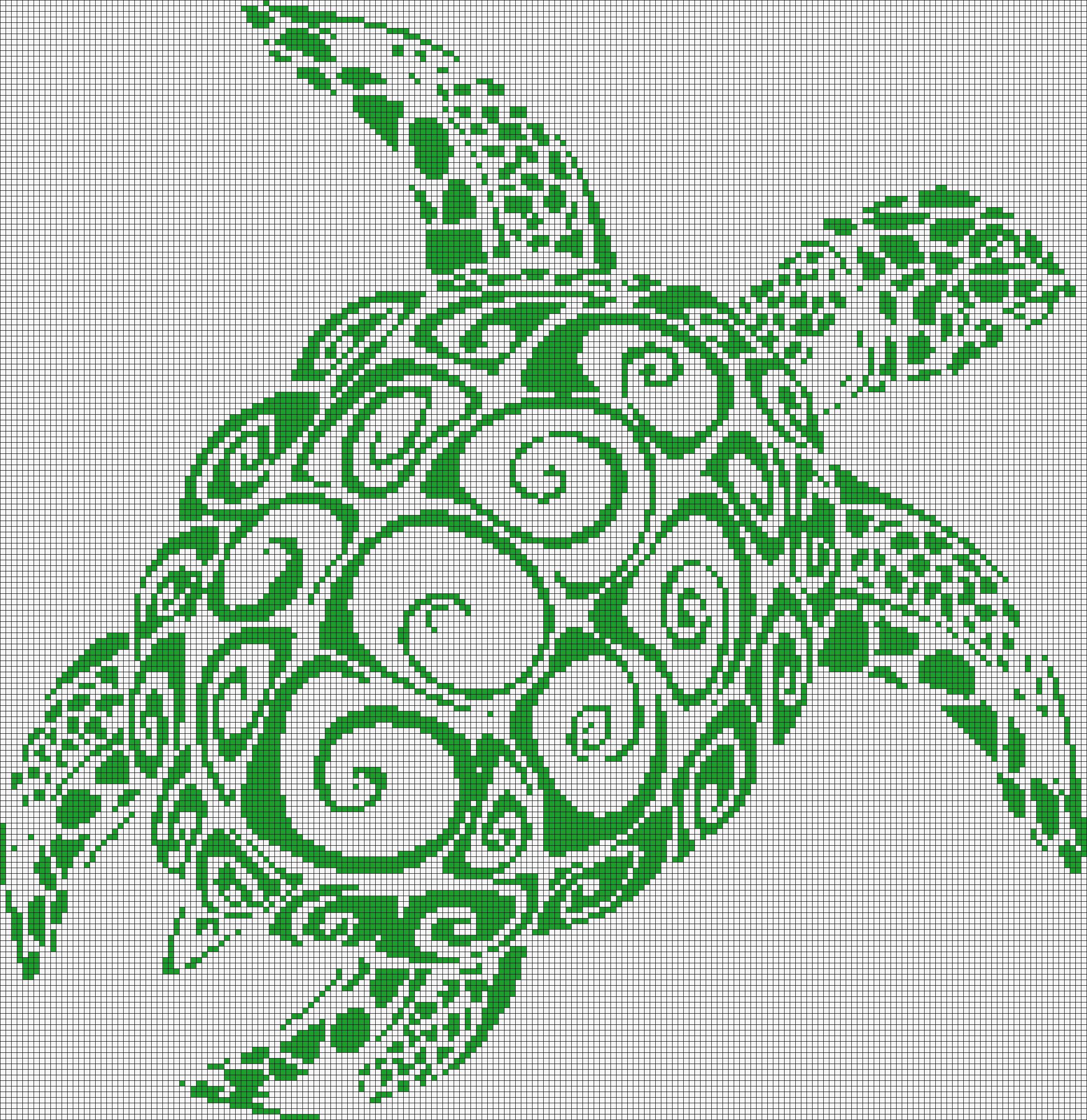 Alpha pattern #19944 preview