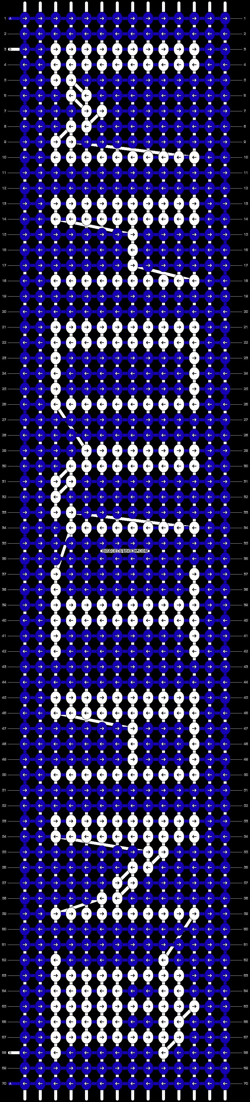 Alpha pattern #19949 pattern