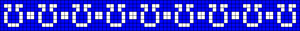 Alpha Friendship Bracelet Pattern #19955