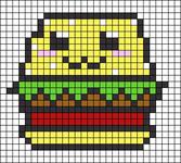 Alpha pattern #19956