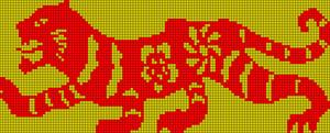 Alpha pattern #19958