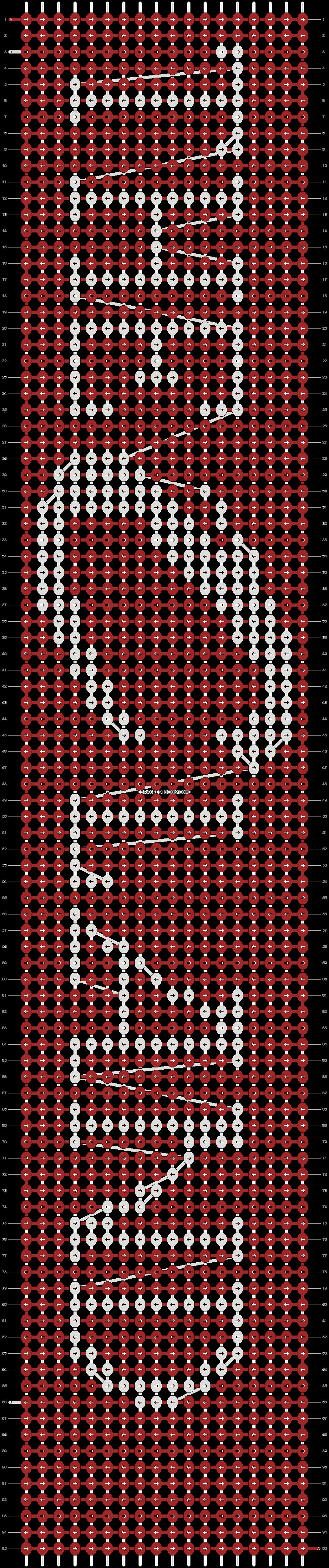Alpha pattern #19965 pattern