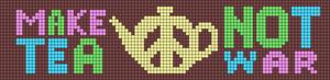 Alpha Friendship Bracelet Pattern #19967