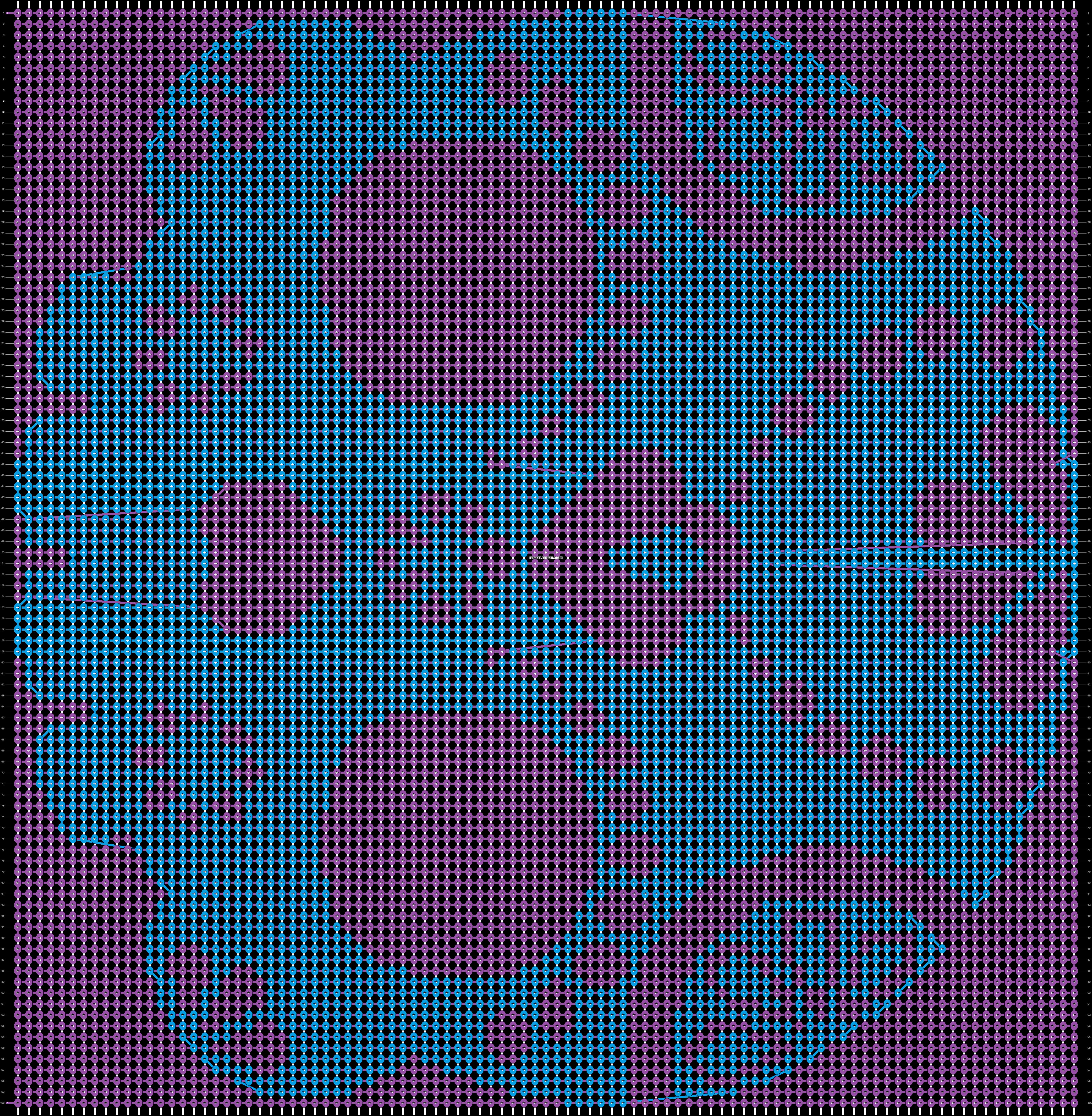 Alpha pattern #19984 pattern