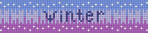 Alpha Friendship Bracelet Pattern #19985