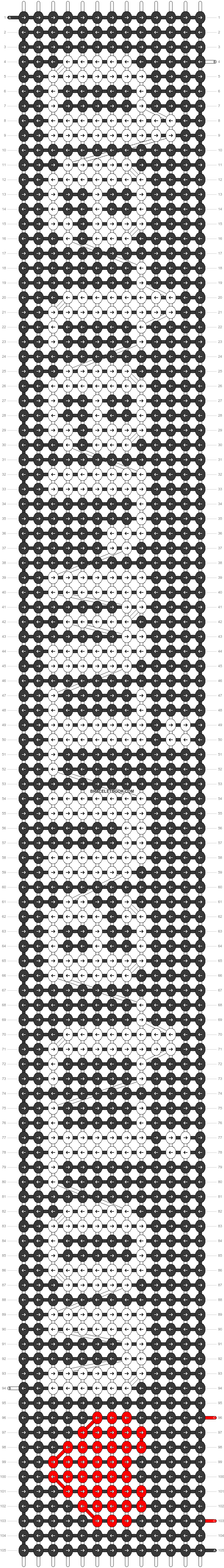 Alpha pattern #19990 pattern