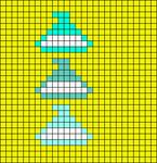 Alpha pattern #19995