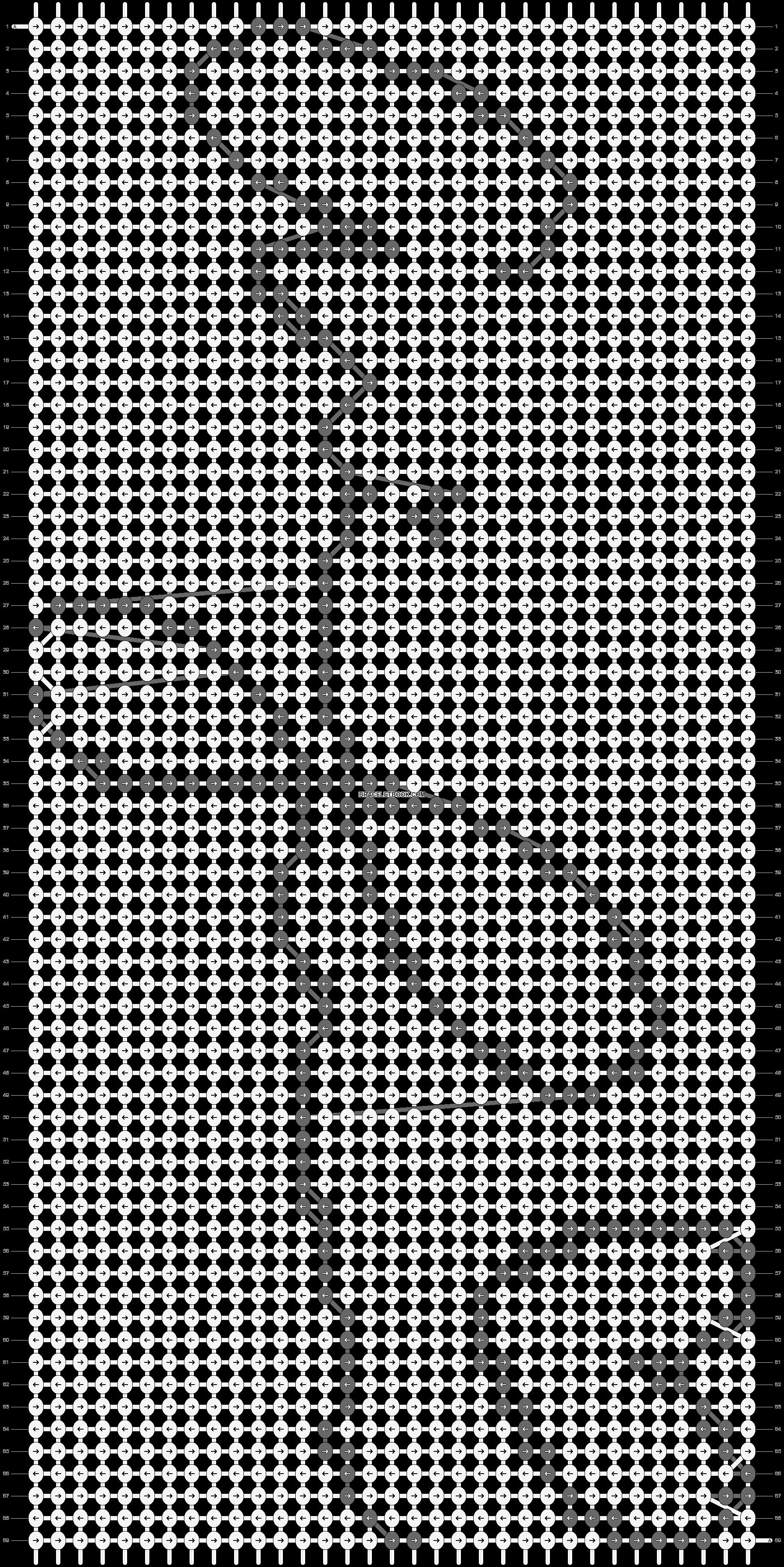 Alpha pattern #20002 pattern