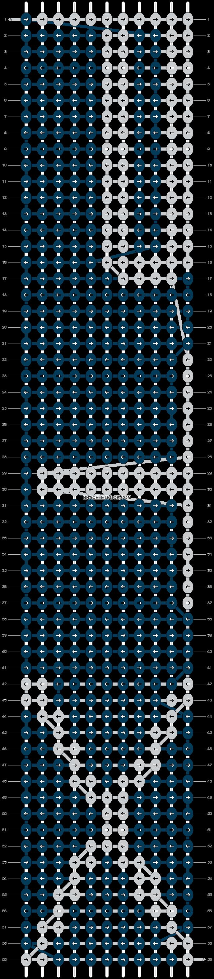 Alpha pattern #20005 pattern