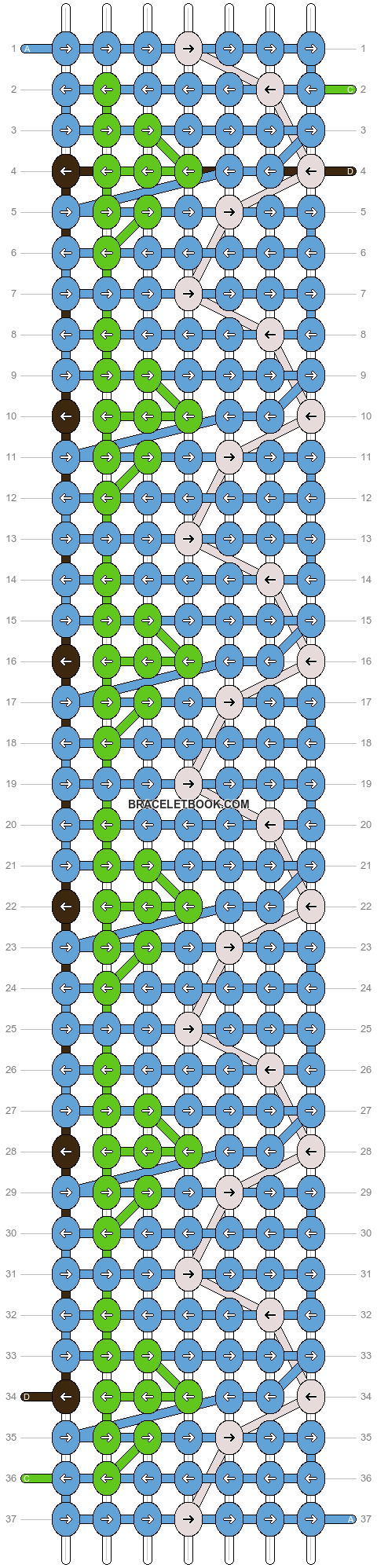 Alpha pattern #20007 pattern