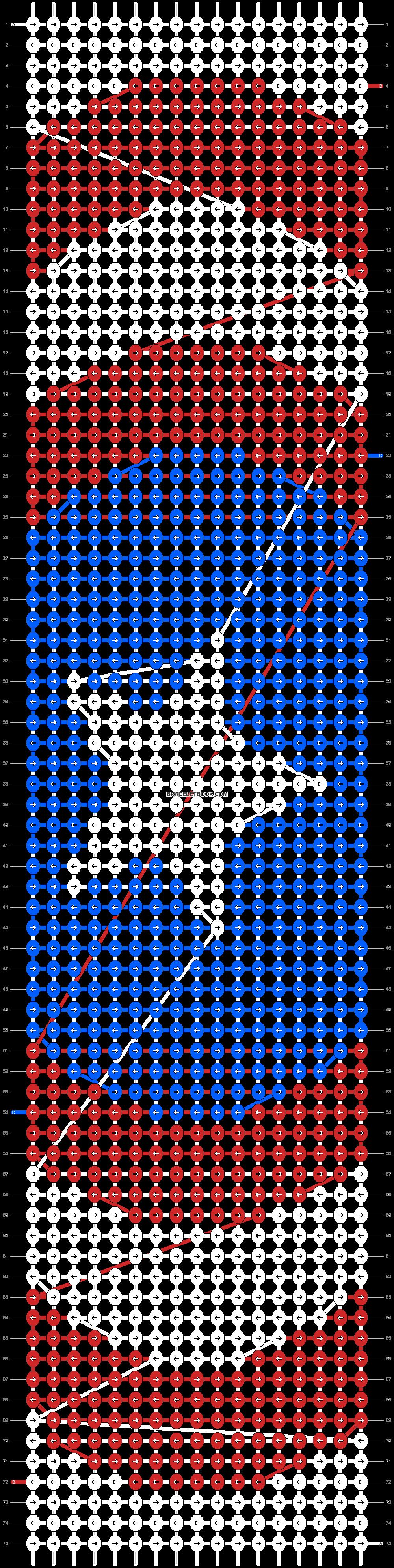 Alpha pattern #20017 pattern