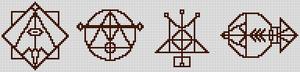 Alpha pattern #20022