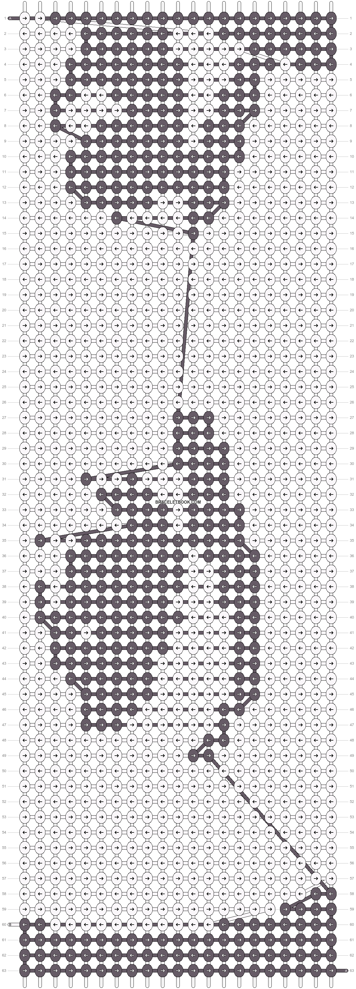 Alpha pattern #20028 pattern