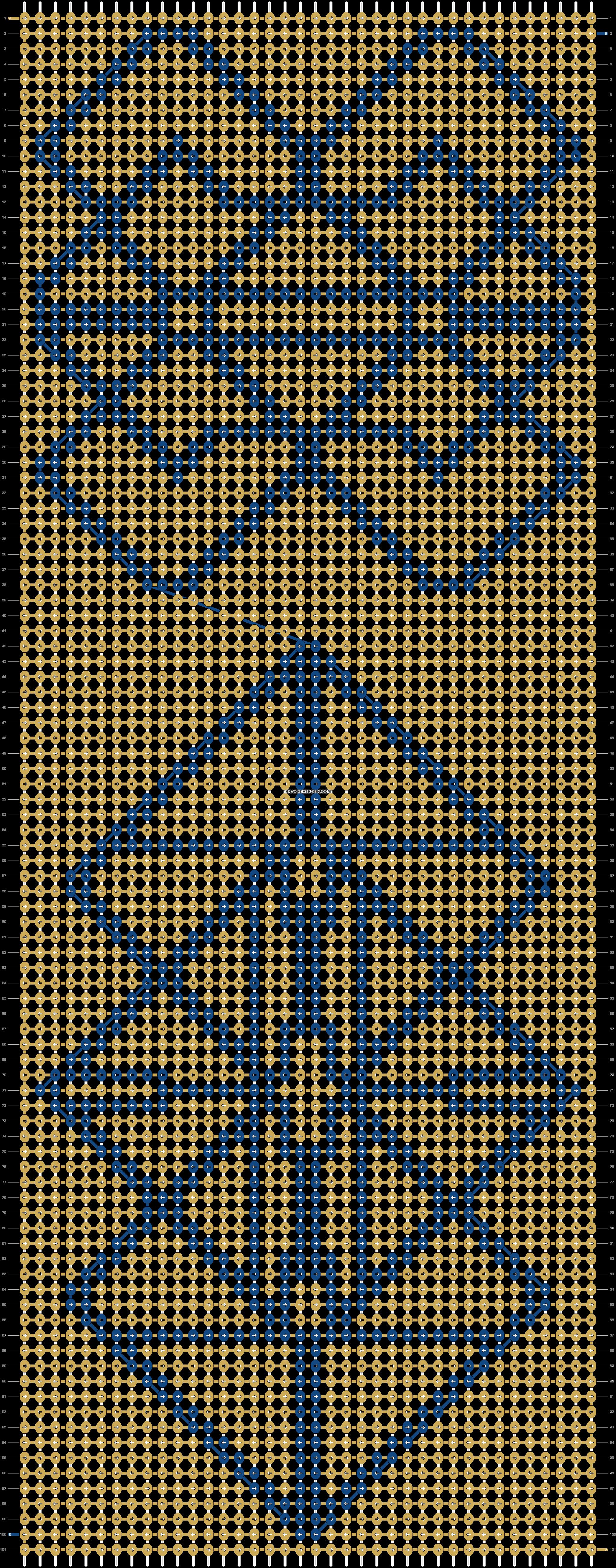 Alpha pattern #20029 pattern