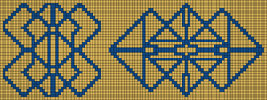 Alpha pattern #20029