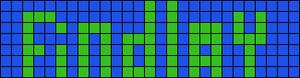 Alpha Friendship Bracelet Pattern #20033