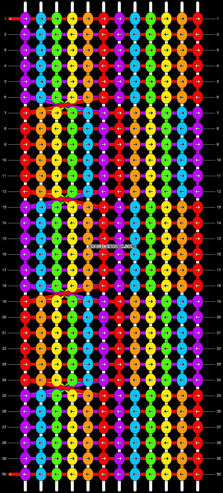 Alpha pattern #20034 pattern