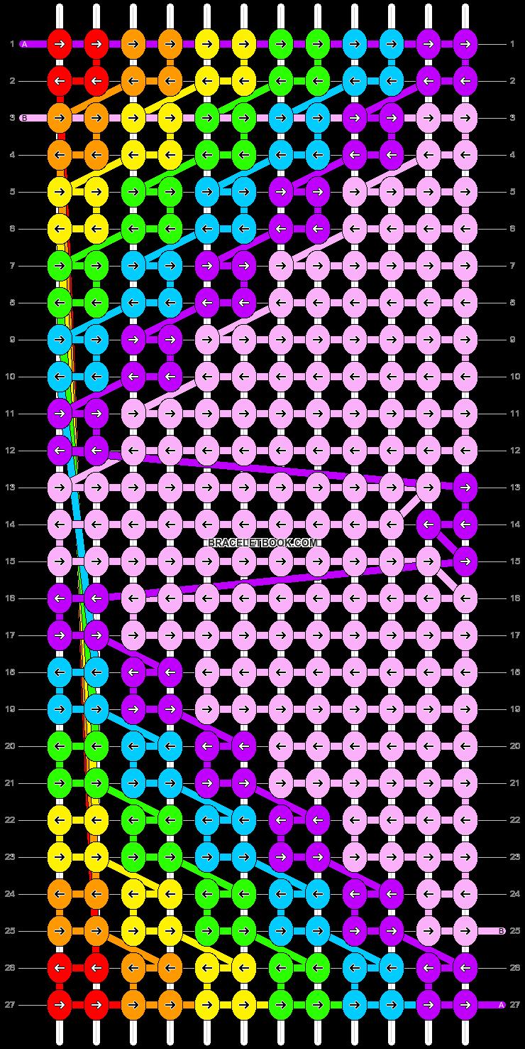 Alpha pattern #20035 pattern