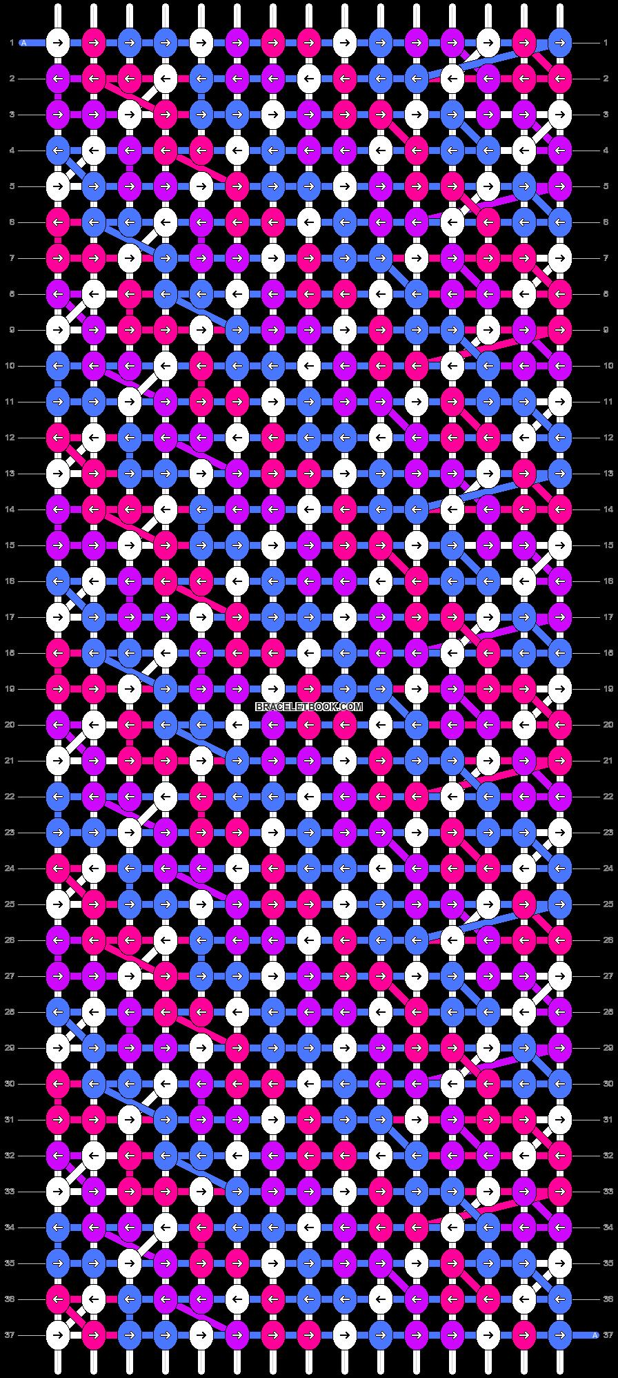Alpha pattern #20038 pattern