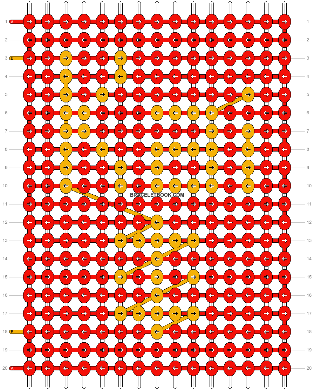 Alpha pattern #20039 pattern