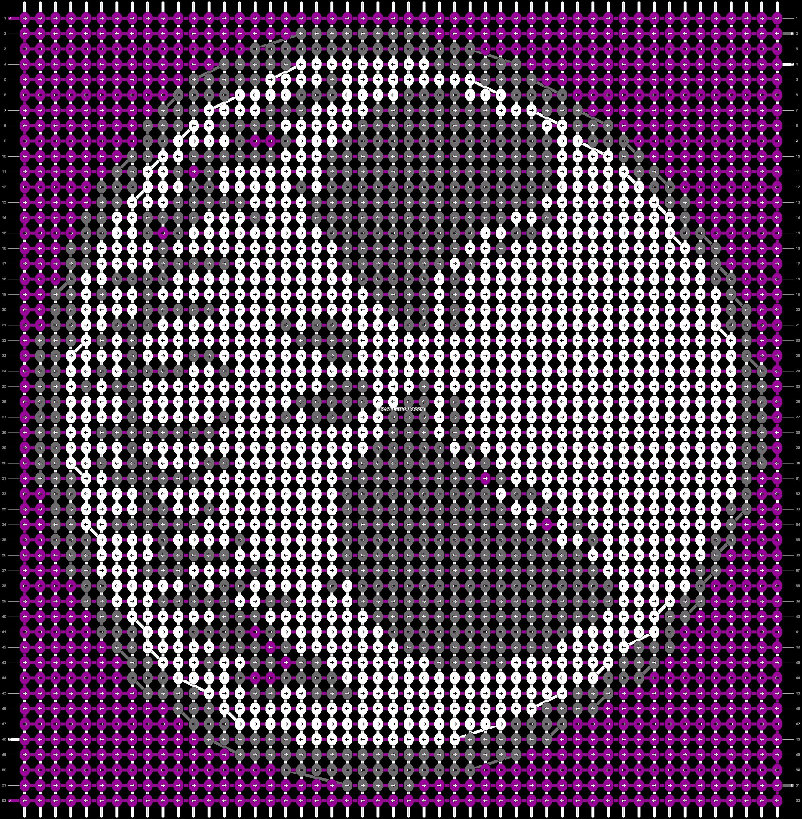 Alpha pattern #20041 pattern